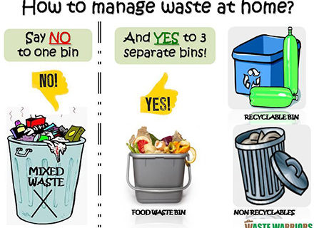How to Manage Your Home Waste